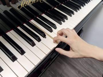 correct finger